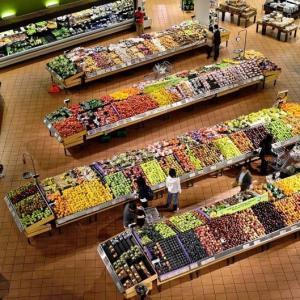Produtos de limpeza nos supermercados